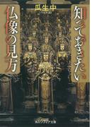 知っておきたい仏像の見方(角川ソフィア文庫)