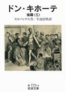 ドン・キホーテ 後篇三(岩波文庫)