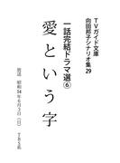 愛という字(TVガイド文庫)