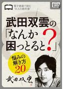 武田双雲の「なんか困っとると?」(impress QuickBooks)