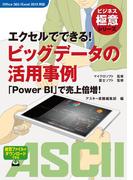 ビジネス極意シリーズ エクセルでできる! ビッグデータの活用事例 「Power BI」で売上倍増!(アスキー書籍)