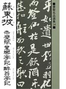 書聖名品選集(14)蘇東坡 : 赤壁賦・豊楽亭記・酔翁亭記