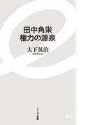 田中角栄 権力の源泉(イースト新書)