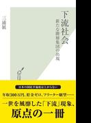 【全1-3セット】下流社会(光文社新書)