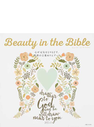 Beauty in the Bible 心が元気をとりもどす、聖書の言葉ぬりえブック
