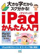 大きな字だからスグ分かる!iPadかんたん入門(大きな字だからスグ分かる!)