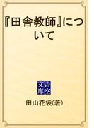 『田舎教師』について(青空文庫)