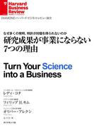 研究成果が事業にならない7つの理由(DIAMOND ハーバード・ビジネス・レビュー論文)