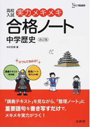 高校入試実力メキメキ合格ノート中学歴史 改訂版