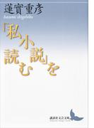 「私小説」を読む(講談社文芸文庫)
