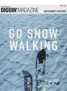 DIGGIN' MAGAZINE SNOWBOARD JOURNAL SPECIAL ISSUE2 BACKCOUNTRY GEAR BOOK