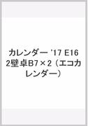 カレンダー '17 E162壁卓B7×2
