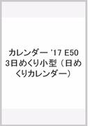 カレンダー '17 E503日めくり小型