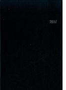 ビジネス手帳2017(ブラック・見開き1週間バーチカル式)