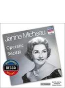 『ジャニーヌ・ミショー、オペラティック・リサイタル』 デゾルミエール&パリ音楽院管、他