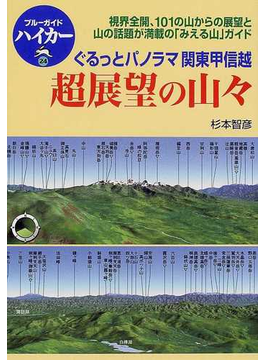 超展望の山々 ぐるっとパノラマ関東甲信越