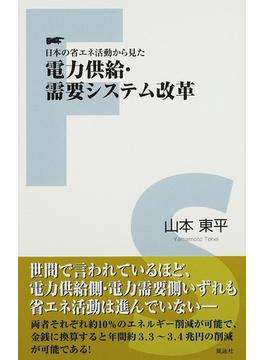 日本の省エネ活動から見た電力供給・需要システム改革