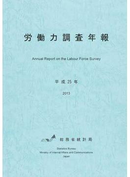 労働力調査年報 平成25年