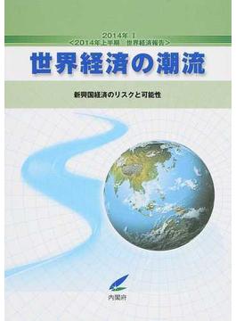 世界経済の潮流 2014年上半期世界経済報告 2014年1 新興国経済のリスクと可能性