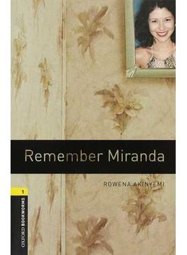 Remember Miranda