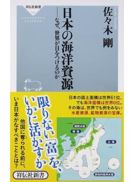 日本の海洋資源 なぜ、世界が目をつけるのか(祥伝社新書)