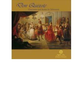 Don Quixote-concertos, Suites: Sorrell / Apollo's Fire