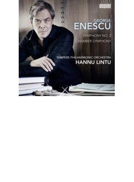 交響曲第2番、室内交響曲 リントゥ&タンペレ・フィル