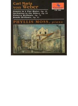 Piano Works, : Phyllis Moss