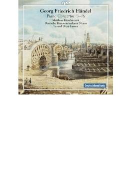 オルガン協奏曲第13番~第16番(ピアノによる演奏) キルシュネライト、ラーセン&ドイツ室内アカデミー