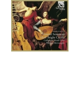 聖チェチーリアの祝日の頌歌、メアリー女王の葬送の音楽、他 ヘレヴェッヘ&コレギウム・ヴォカーレ(2CD)