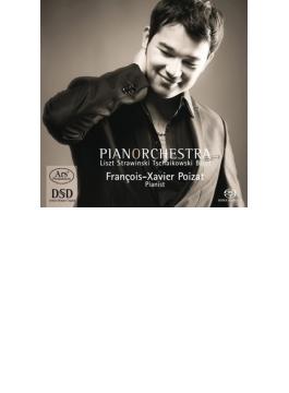 ストラヴィンスキー:ペトルーシュカからの3楽章、チャイコフスキー:『くるみ割り人形』ピアノ版、他 フランソワ=クサヴィエ・ポワザ