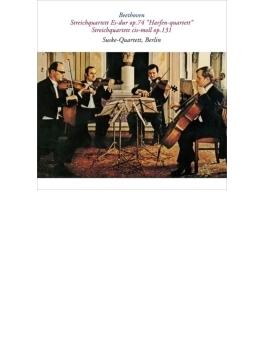 弦楽四重奏曲第14番、第10番 ズスケ四重奏団