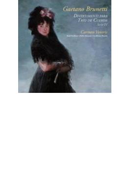 Divertimentos For String Trio: Ensemble Carmen Veneris