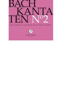カンタータ集第2集~第22、34、60番 ルドルフ・ルッツ&バッハ財団管弦楽団