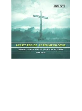 The Heart's Refuge-lutheran Cantatas: D.taylor / Theater Of Early Music Schola Cantorum