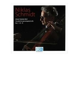 無伴奏チェロ組曲第1番、第3番、第6番 ニクラス・シュミット