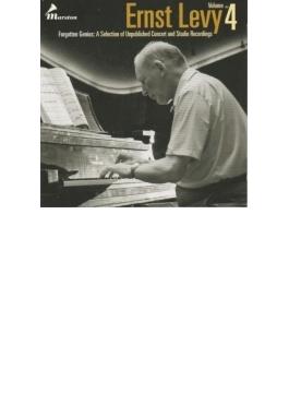 Ernest Levy: Forgotten Genius-a Selection Of Unpublished Concert & Studio Recordings