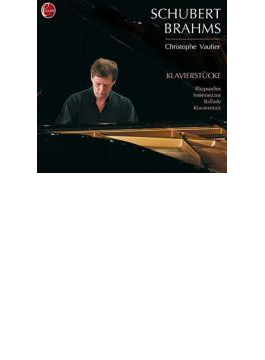 Christophe Vautier: Schubert, Brahms: Piano Pieces