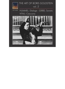 B.フンメル:ディアローグ、ヴィターリ:シャコンヌ、ギブス:ヴァイオリン・ソナタ ボリス・ゴールドシュタイン