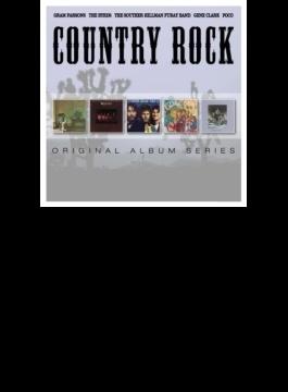 Country Rock: 5cd Original Album Series Box Set