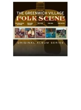 Greenwich Village Folk Scene: 5cd Original Album Series Box Set