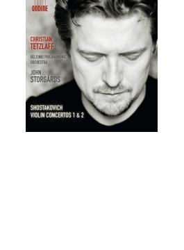 ヴァイオリン協奏曲第1番、第2番 テツラフ、ストゥールゴールズ&ヘルシンキ・フィル