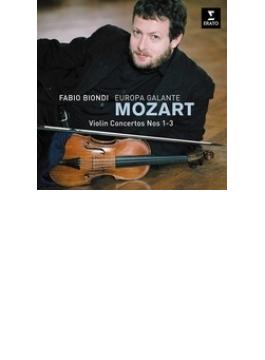 Violin Concerto, 1, 2, 3, : Biondi(Vn) / Europa Galante