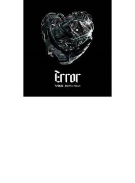2nd Mini Album: Error 【台湾A盤】 (CD+DVD)