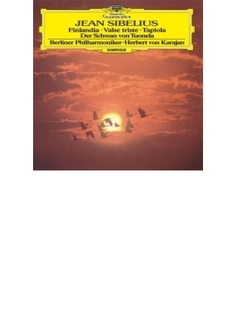 フィンランディア、タピオラ、トゥオネラの白鳥、悲しきワルツ カラヤン&ベルリン・フィル(1984)(シングルレイヤー)