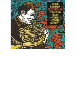 ラヴェル:ボレロ、ピアソラ:タンゴの歴史、レフ・コーガン:ハシッドの旋律、フォーレ:パヴァーヌ、他 バボラーク、器楽アンサンブル