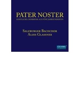 『パーテル・ノステル』 グラスナー&ザルツブルク・バッハ合唱団