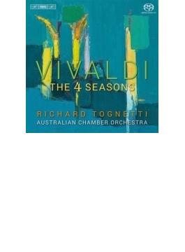協奏曲集『四季』、4つのヴァイオリンのための協奏曲、他 トニェッティ、オーストラリア室内管