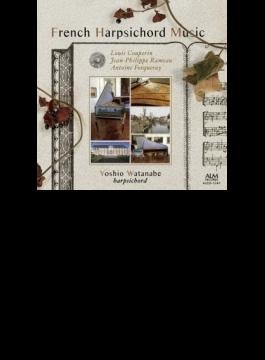 渡邊順生: French Harpsichord Music-l.couperin, Rameau, A.forqueray
