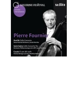 ドヴォルザーク:チェロ協奏曲 フルニエ、ケルテス&ルツェルン祝祭管(1967年ステレオ)、鳥の歌(1976年ステレオ)、他
